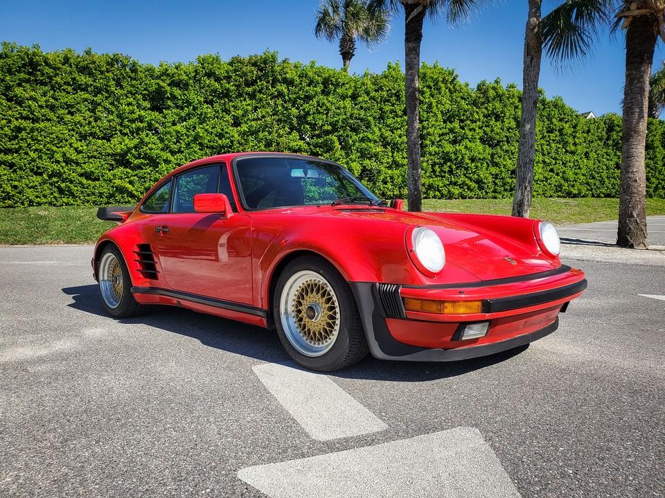 16k-Mile 1987 Porsche 911 Turbo Twin-Plug Custom
