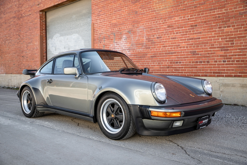 36k-Mile 1987 Porsche 911 Carrera G50 M491