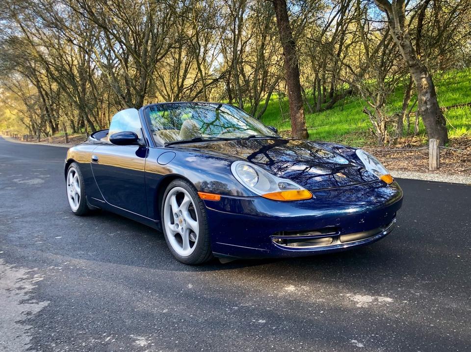 1999 Porsche 996 Carrera Cabriolet 6-Speed