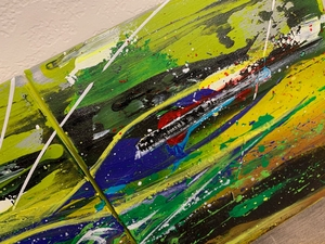 """""""Hippie 3"""" An Original Painting by Andreas Somogyi"""