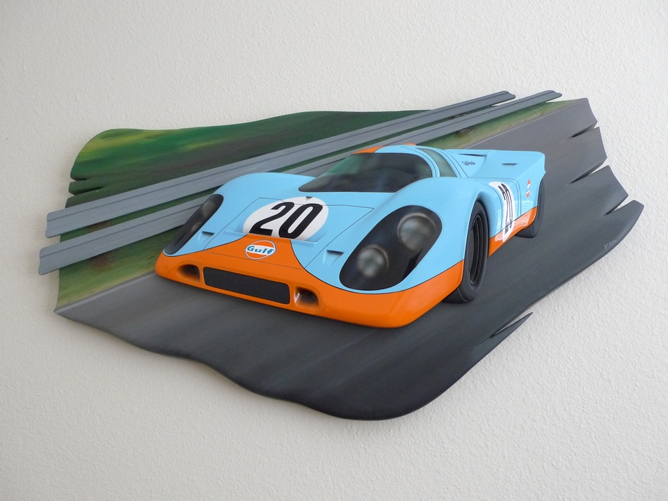 DT: Porsche 917 Sculpture by Sal Erato
