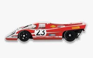 "NO RESERVE - Plexiglass Porsche 917 Art (35"" x 12"")"