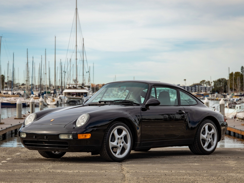 31k-Mile 1997 Porsche 993 Carrera Coupe 6-Speed