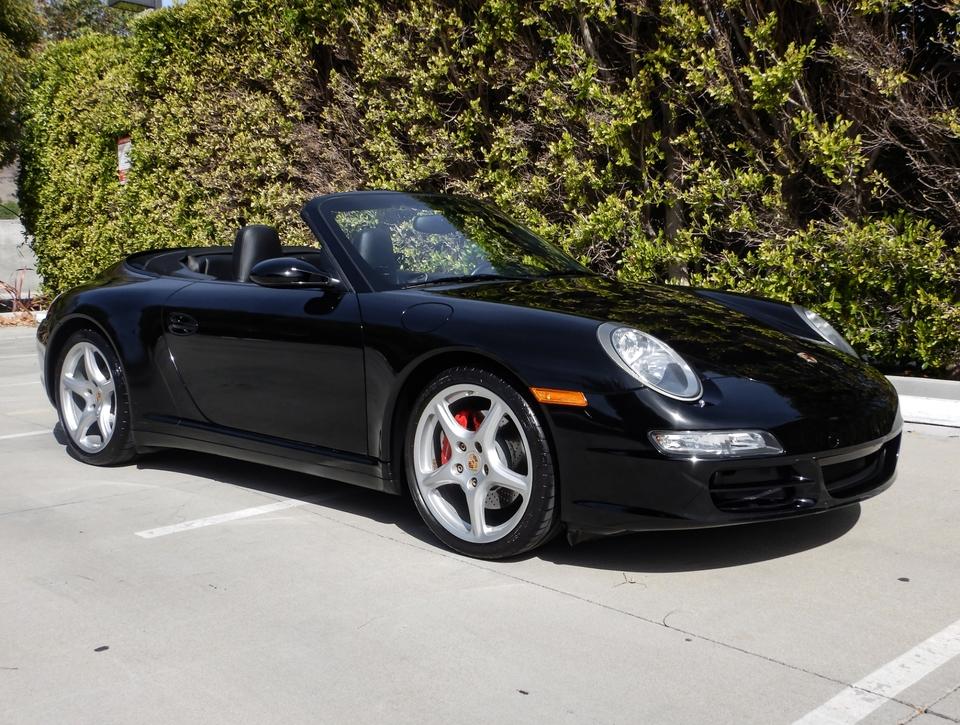 DT: 2008 Porsche 997 Carrera 4S Cabriolet Automatic