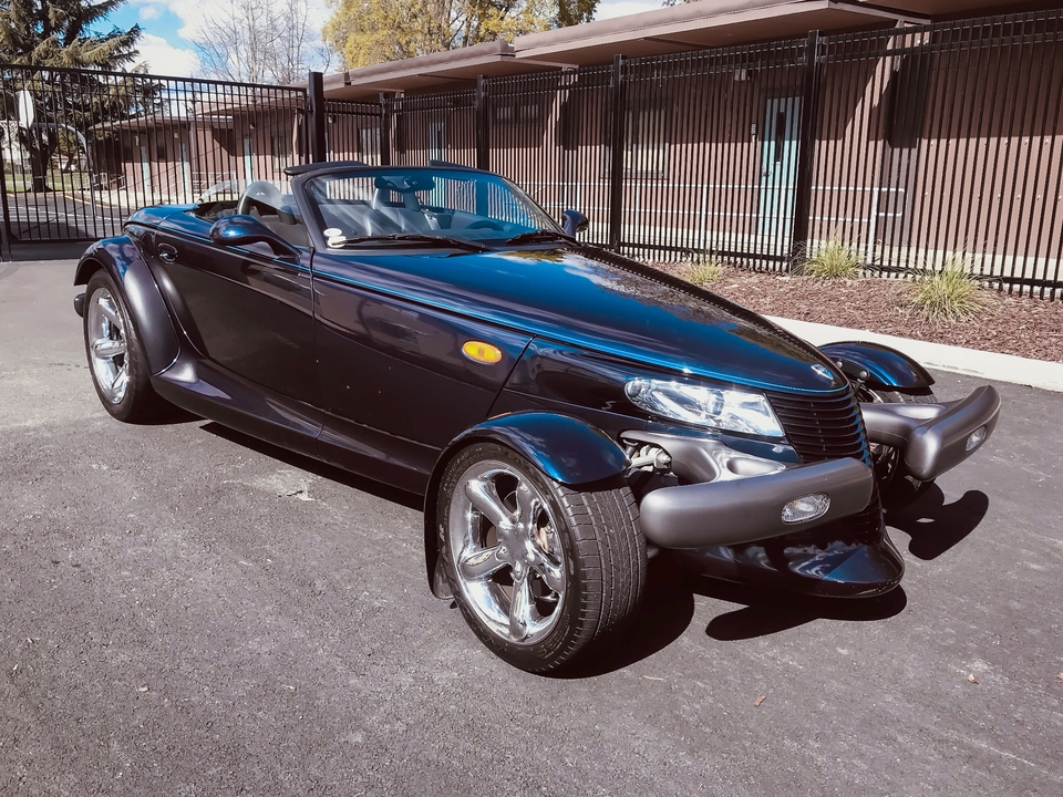 11k-Mile 2001 Plymouth Prowler Mulholland Edition 1/1281