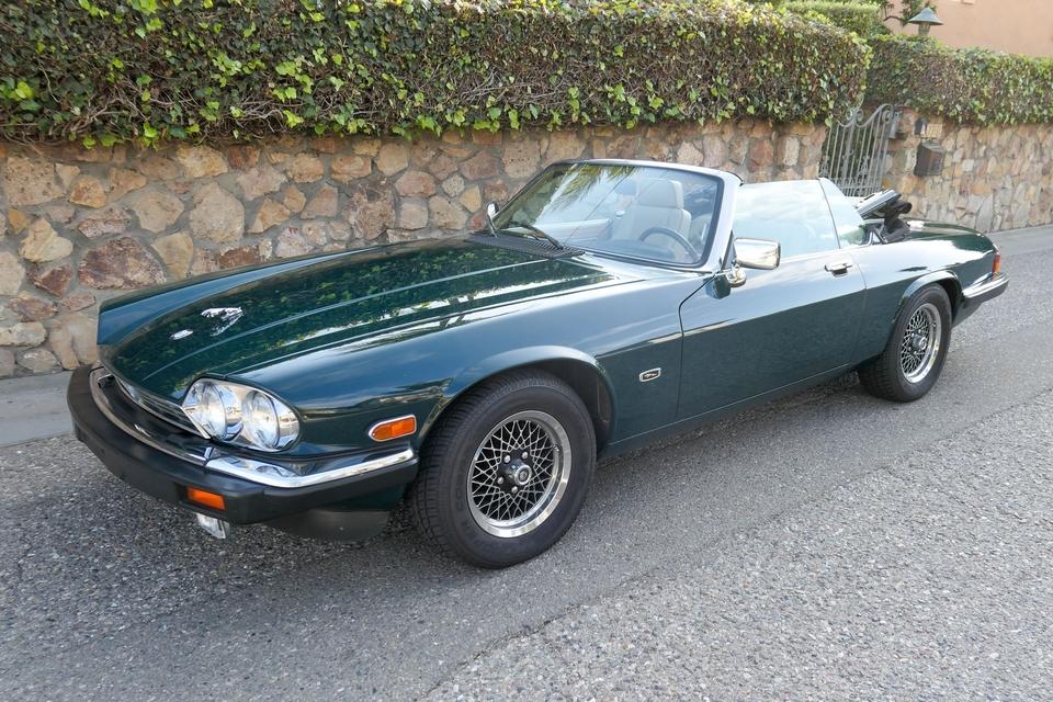 DT: 44k-Mile 1990 Jaguar XJ-S Convertible V12 Classic Collection