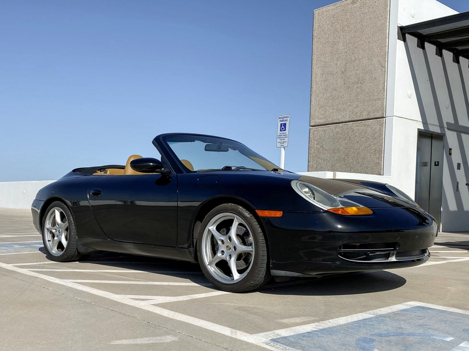 1999 Porsche 996 Carrera Cabriolet 6-Speed LSD