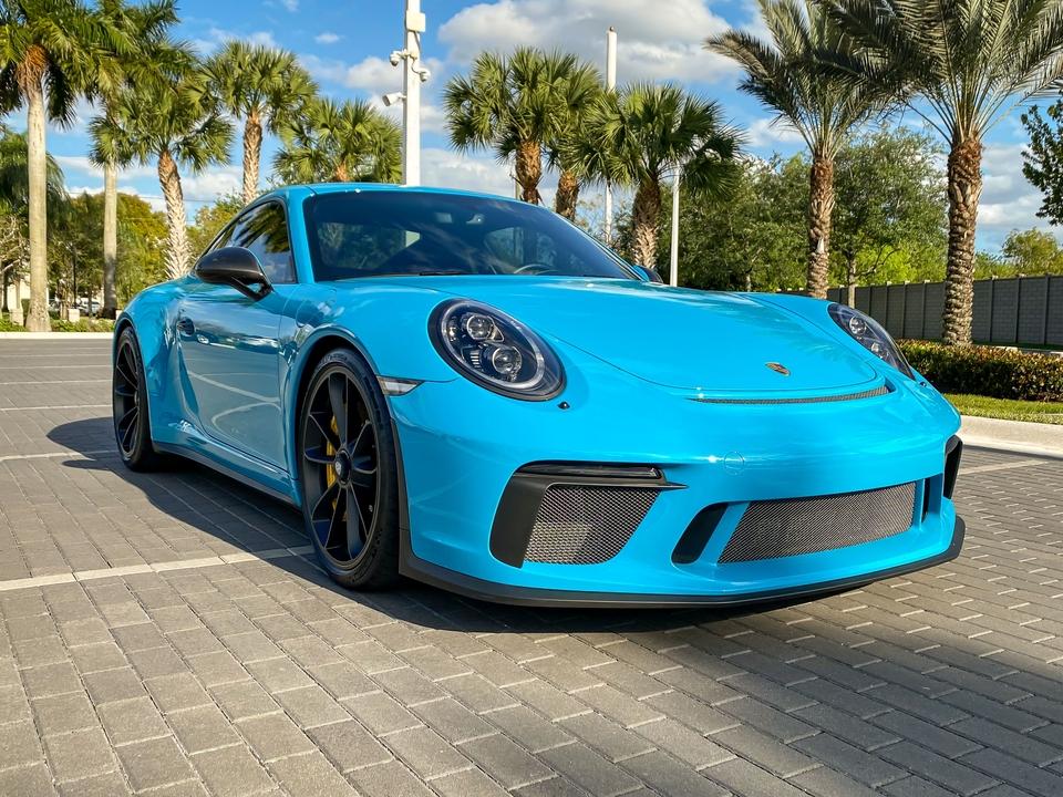 2019 Porsche GT3 Touring Miami Blue