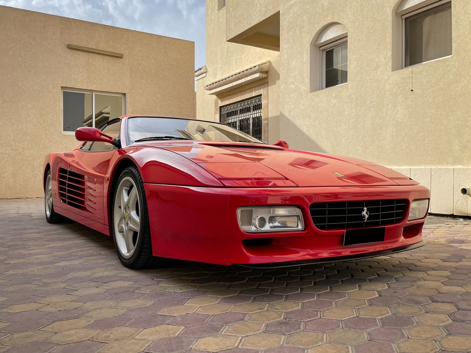 DT: 20k-Mile 1993 Ferrari 512TR