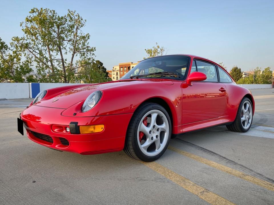 34k-Mile 1996 Porsche 993 Carrera 4S
