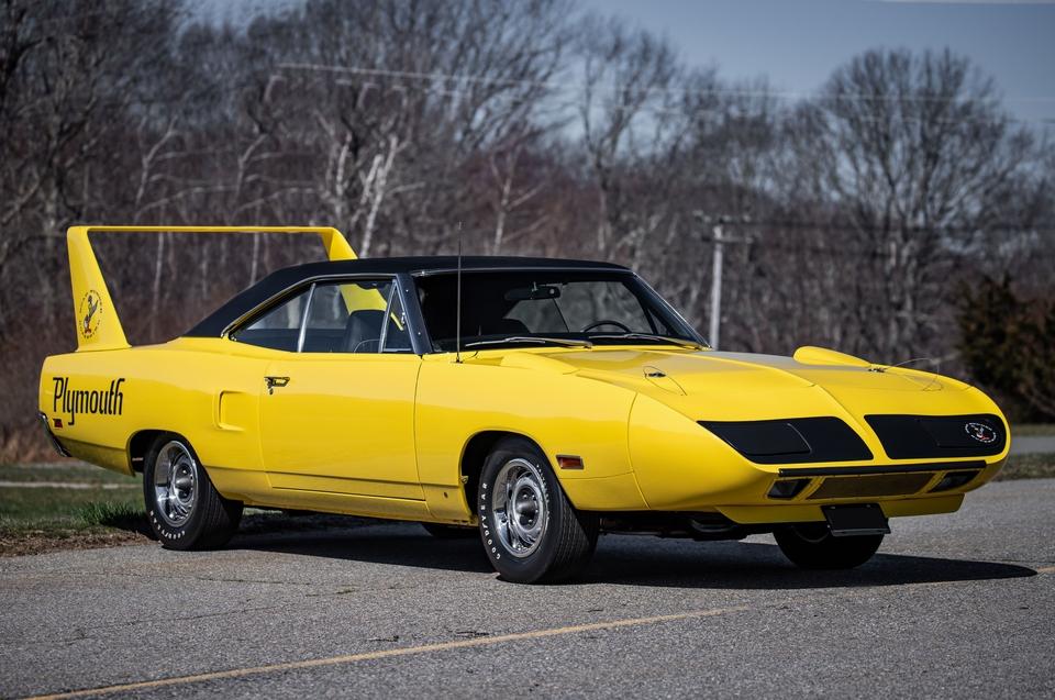 "DT: ""V-Code"" 1970 Plymouth Superbird Lemon Twist"