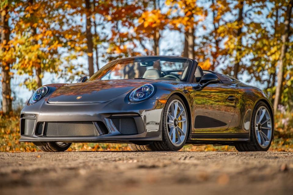 300-Mile 2019 Porsche 991 Speedster