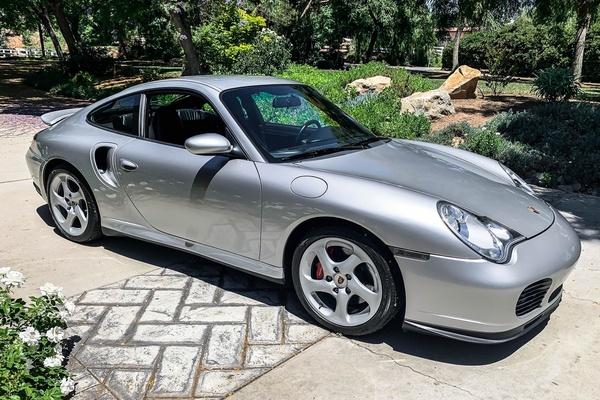 25K-Mile 2001 Porsche 996 Turbo Coupe 6-Speed