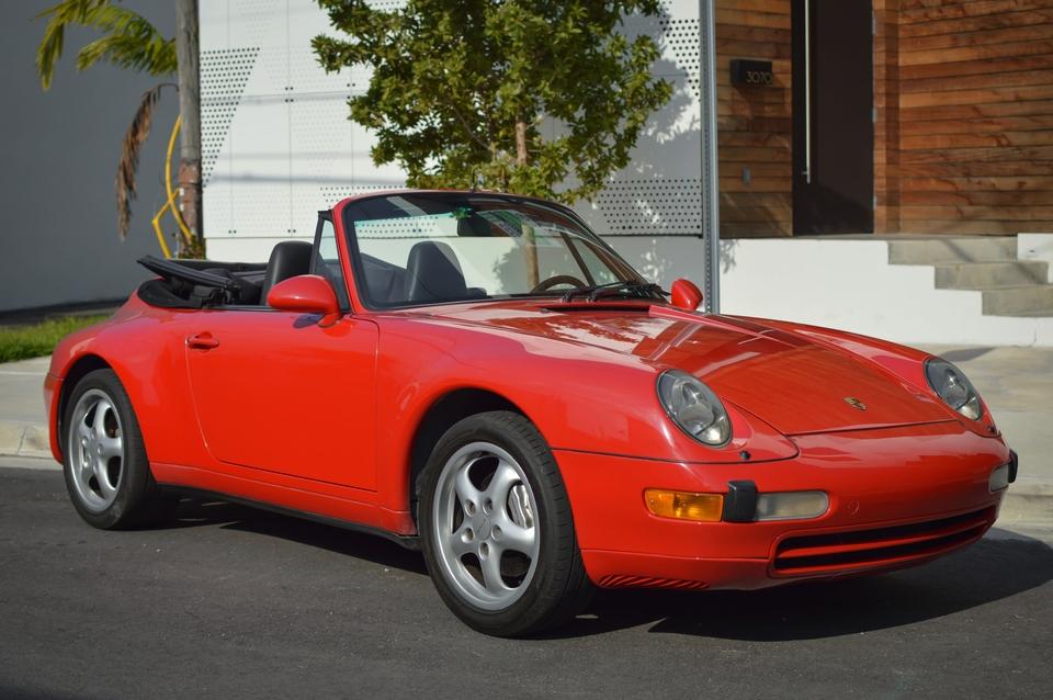1997 Porsche 993 Carrera 4 Cabriolet 6-Speed