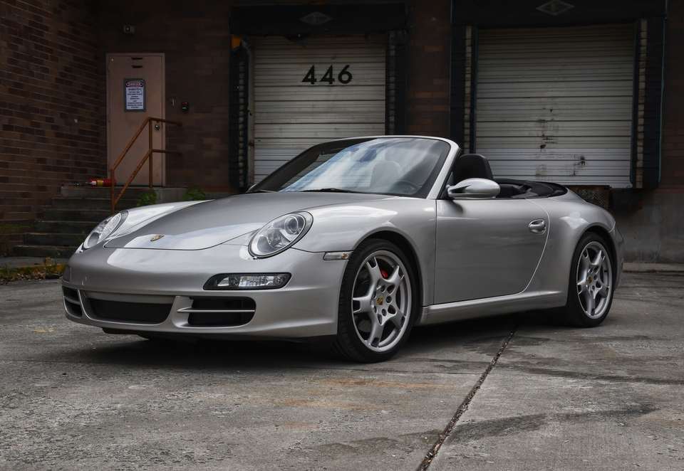 34k-Mile 2005 Porsche 997 Carrera S Cabriolet 6-Speed