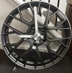 911 RS Spyder Wheel Clock