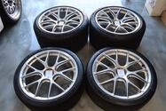 "20"" x 9""/12"" BBS Magnesium Centerlock GT3 Wheels"