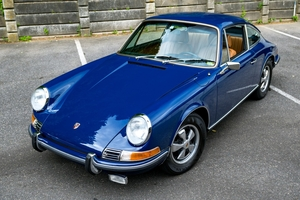 1972 Porsche 911 T MFI Coupe Albert Blue