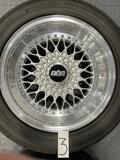 "DT: 7"" X 16"" & 8"" x 16"" Three-Piece BBS RS012 RS013 Wheels"