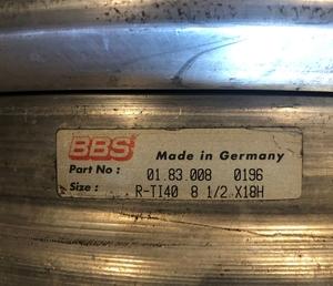 DT: BBS E28 Magnesium Wheels