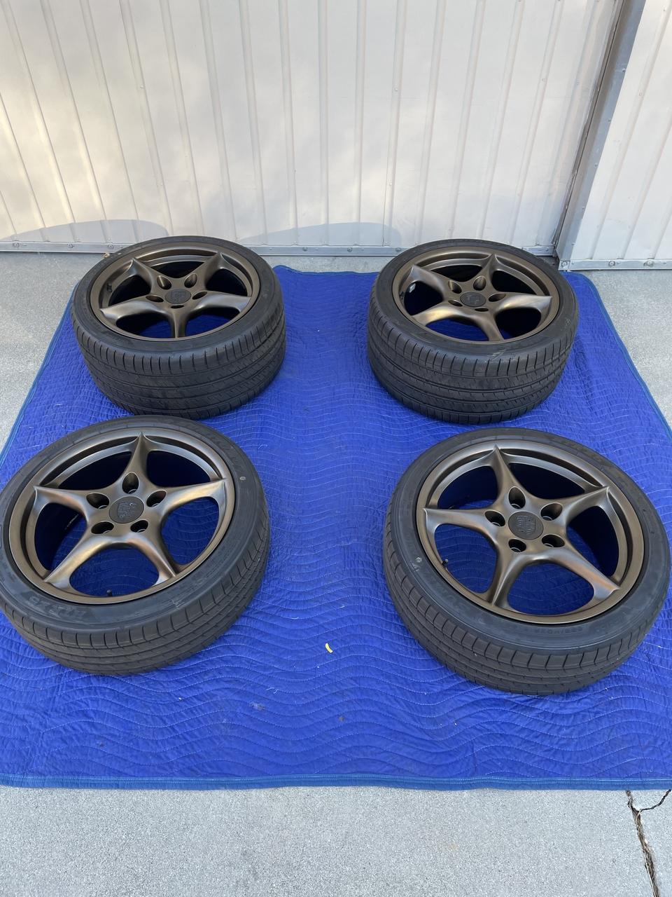 """18"""" Porsche MY02 BBS Wheels"""