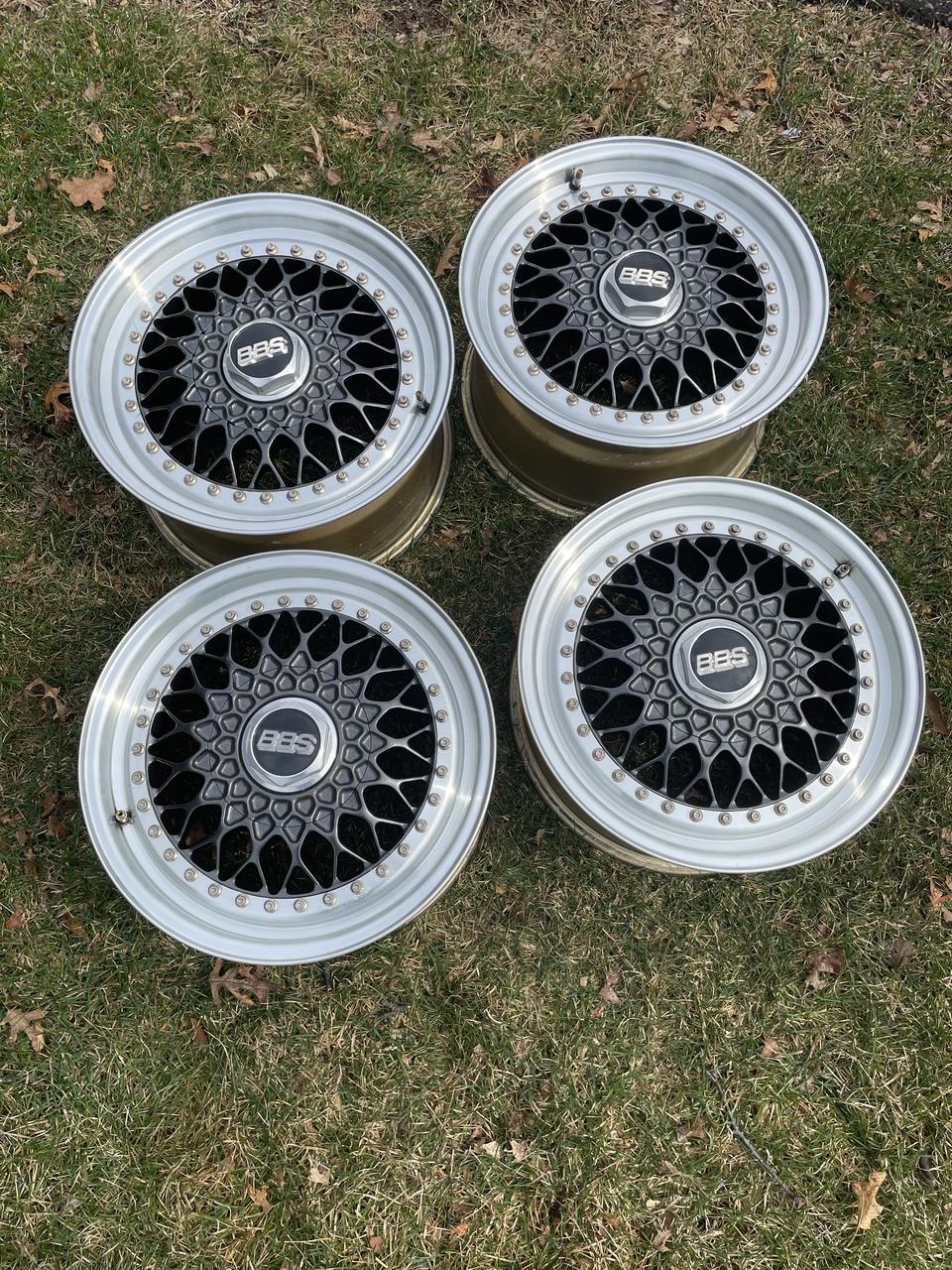 "DT: 16"" BBS RS 3-piece Wheels"