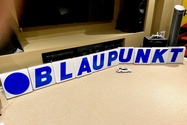 DT: New Old Stock Illuminated Blaupunkt Letters