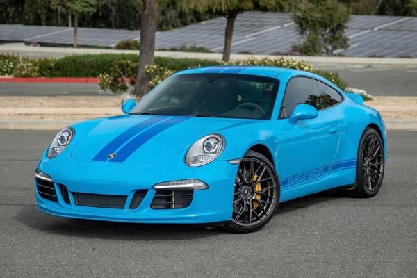 2014 Porsche 991 Carrera 7-Speed PTS Mexico Blue