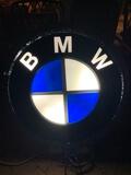 Illuminated BMW Dealership Sign