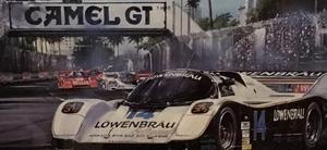 Rare IMSA Camel GT Porsche 935 Metal Sign (5' x 3')