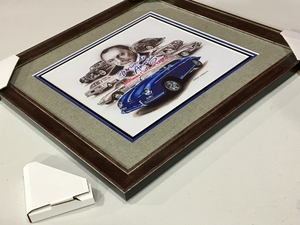 "NO RESERVE - Official ""Driven To America 2"" Framed Artwork"