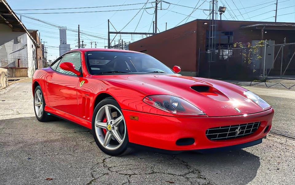DT: 2K-Mile 2005 Ferrari 575M Maranello