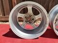 "DT: 18"" x 8"" and 18"" x 11"" Porsche 996 Turbo Hollow-Spoke Wheels"
