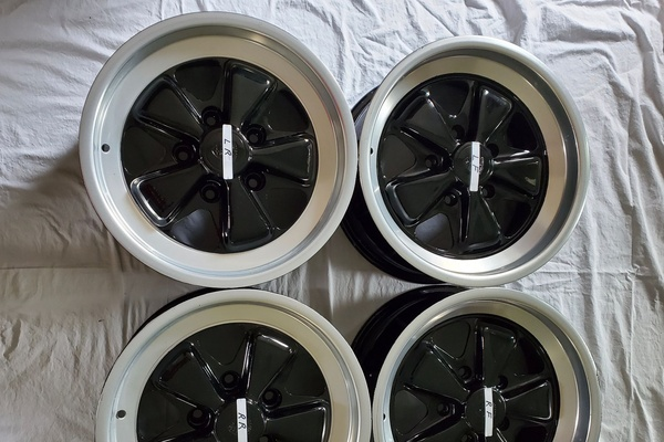 "DT: 7"" x 16"" Porsche Factory Fuchs Wheels"