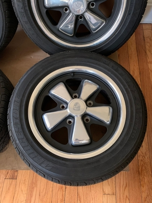 "DT: 15"" x 6"" 1972 Porsche Fuchs Wheels"
