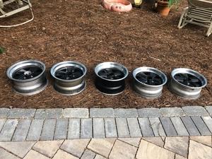 Porsche Factory Fuchs Wheels (Set of Five)