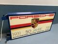 "Porsche 50 Jahre (year) Anniversary Double-sided Illuminated Sign (40"" x 20"")"