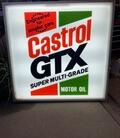DT: 80s Castrol GTX Motor Oil Illuminated Sign (4' x 4')