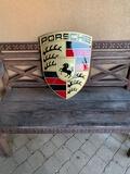 """Authentic Porsche Dealership Crest (23"""" x 17"""")"""