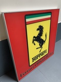 "Official Ferrari Dealership Illuminated Sign (36"" x 36"")"