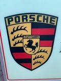 "DT: Porsche Ricambi Originali Illuminated Sign (53"" x 27"" x 4.5"")"