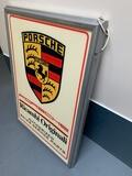 "Porsche Ricambi Originali Illuminated Sign (50"" x 36"")"