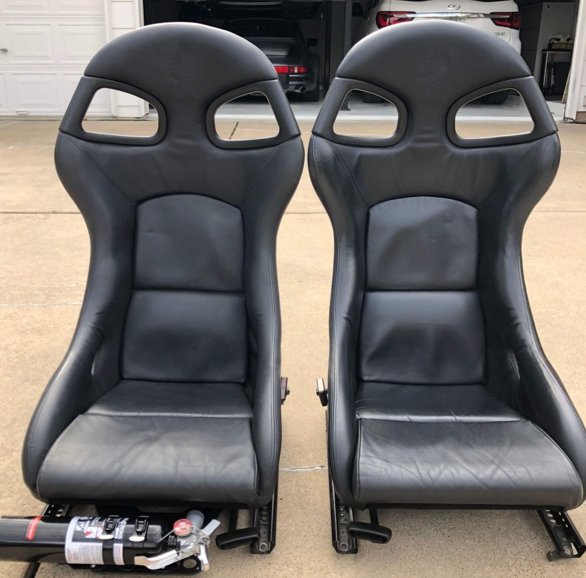 Factory Porsche 996 GT3 Recaro Bucket Seats