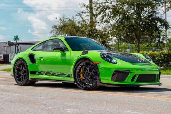 DT-Direct 2019 Porsche 991.2 GT3 RS Weissach Edition