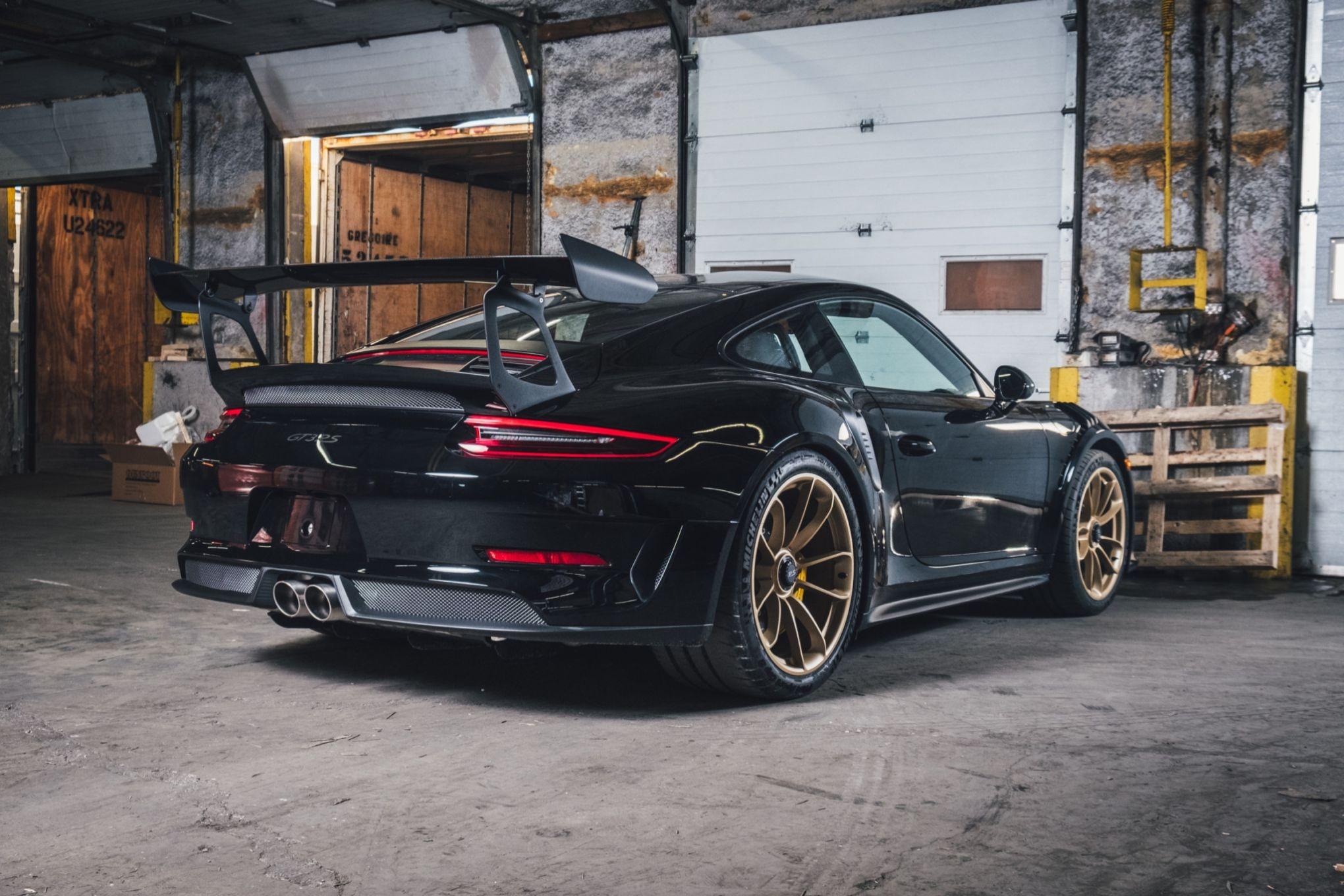 DT 2019 Porsche 911 GT3 RS Weissach Edition
