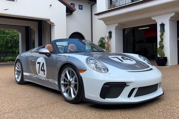 135-Mile 2019 Porsche 991.2 Speedster Heritage Edition #1068
