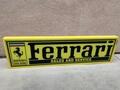 """DT: Authentic Illuminated Ferrari Sign (55"""" x 16"""" x 2 3/4"""")"""