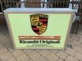 "Porsche Ricambi Originali Double-Sided Illuminated Sign (31"" x 24"")"