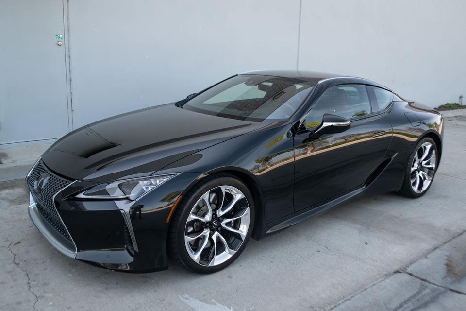 10k-Mile 2018 Lexus LC 500 Coupe