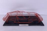 """DT: Lamborghini Miura Sculpture (36"""" x 16"""")"""